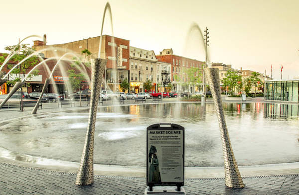 Photograph - Market Square Guelph Ontario by Nick Mares