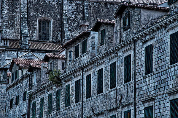 Photograph - Market Street Facade - Dubrovnik by Stuart Litoff
