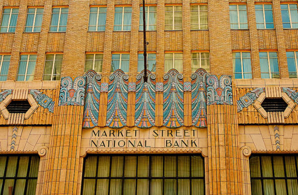 Photograph - Market Street National Bank II by Kristia Adams