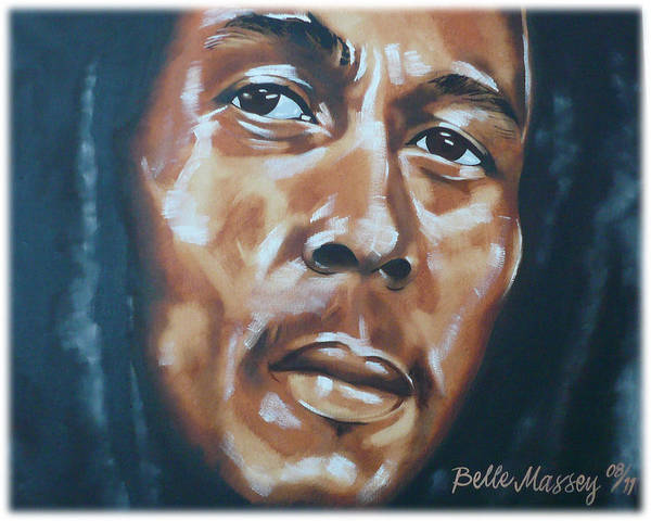 Lip Piercing Wall Art - Painting - Marley by Belle Massey