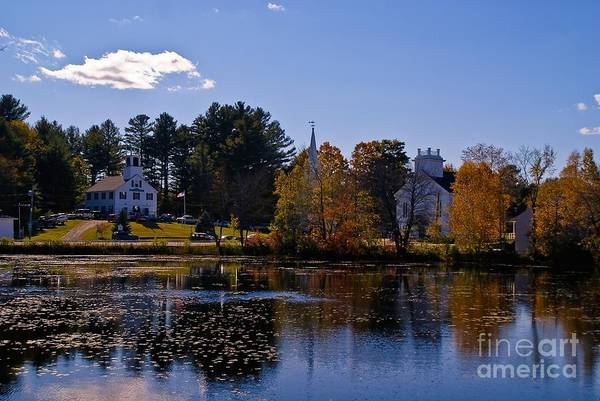 Photograph - Marlow New Hampshire. by New England Photography