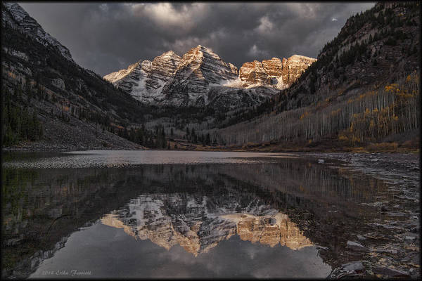Photograph - Maroon Bell Reflections by Erika Fawcett