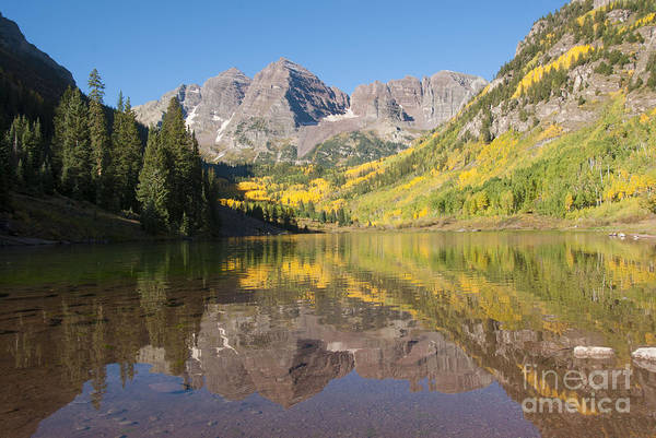 Alpine Lakes Wilderness Photograph - Maroon Bells In Autumn by Juli Scalzi