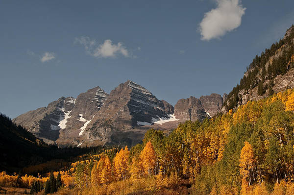 Photograph - Maroon Bells In The Fall 2 by Lee Kirchhevel