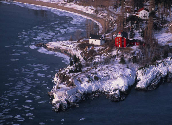 Marquette Photograph - Marquette Harbor Lighthouse by Panoramic Images