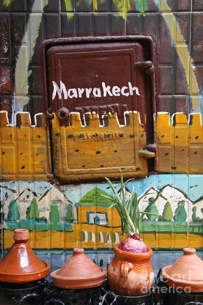 Wall Art - Photograph - Marrakech Graffiti by Sophie Vigneault