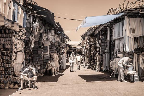 Marrakech Souk Art Print