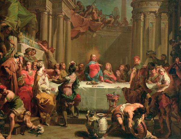 Guest Painting - Marriage Feast At Cana by Gaetano Gandolfi