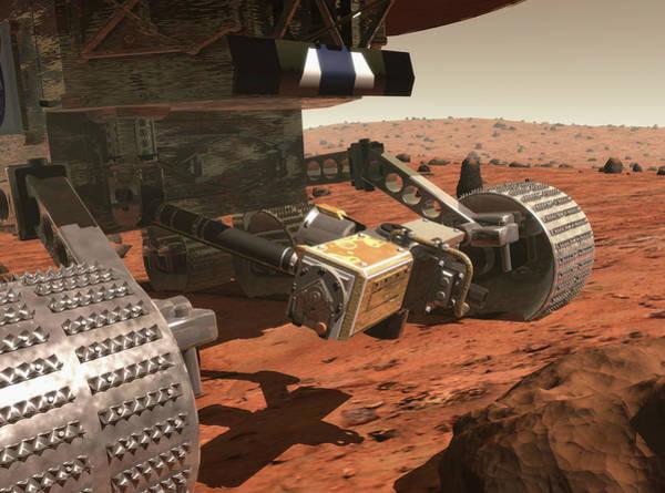 Jet Propulsion Laboratory Photograph - Mars 2003 Rover by Nasa/science Photo Library