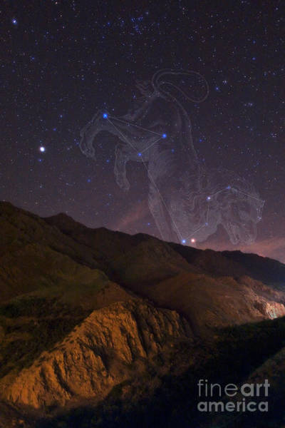 Photograph - Mars And Regulus In Leo by Babak Tafreshi