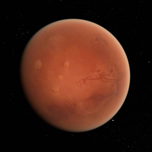 Red Planet Digital Art - Mars, Artwork by Sciepro