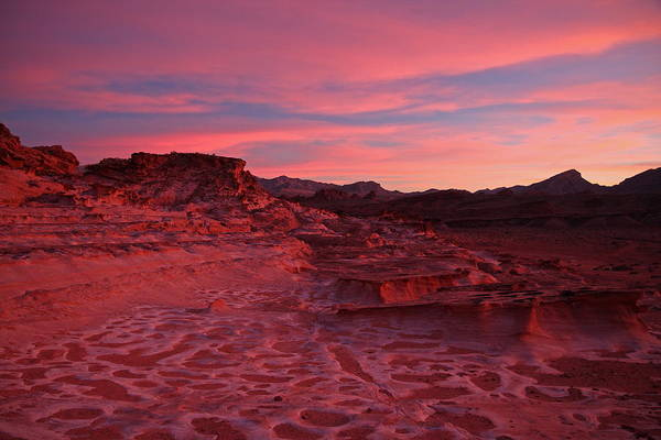 Photograph - Mars In Nevada by Steve Wolfe