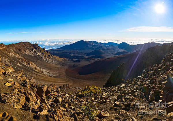 Haleakala Crater Photograph - Mars On Earth - Haleakala Panorama by Jamie Pham