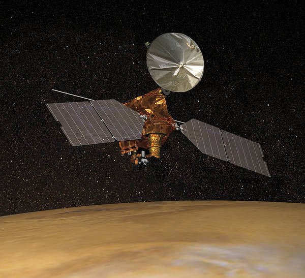 Matter Painting - Mars Reconnaissance Orbiter by Anonymous