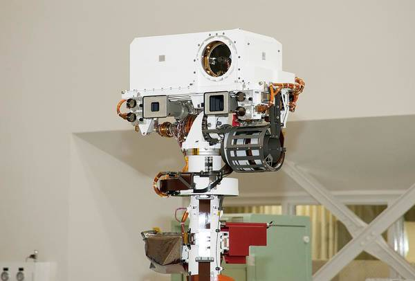 Jet Propulsion Laboratory Photograph - Mars Science Laboratory Instrument by Nasa/jpl-caltech/science Photo Library