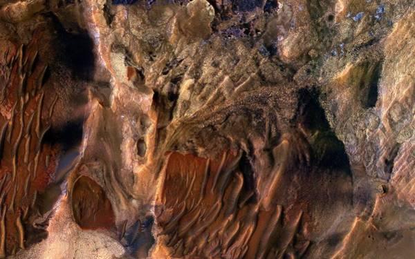 Deposit Photograph - Mars Surface Deposits by Nasa/jpl-caltech/univ. Of Arizona