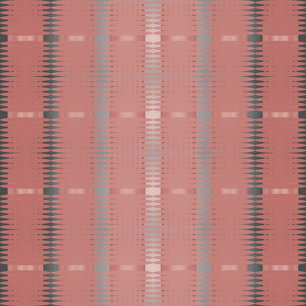Digital Art - Marsala Stripe by Kevin McLaughlin