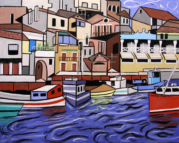 Painting - Marseille France by Anthony Falbo