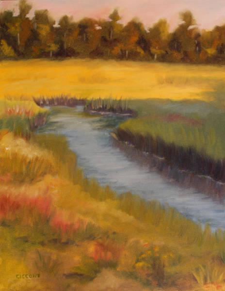 Marsh Mellow Art Print
