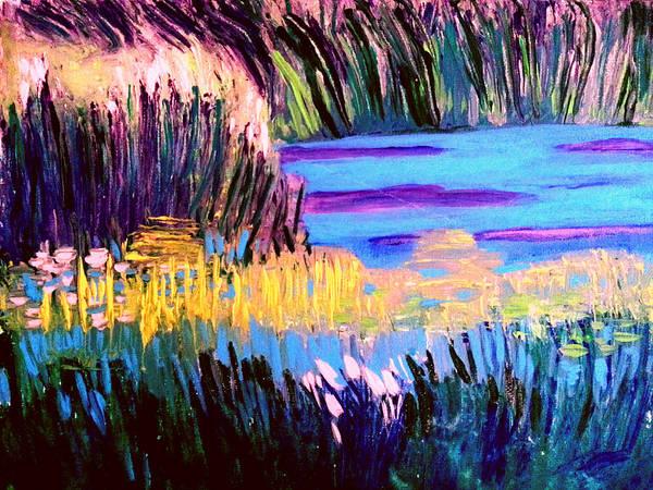 Painting - Marsh by Nikki Dalton