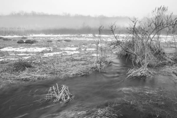 Photograph - Marsh Thaw by Sara Hudock