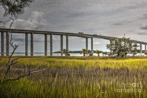 Photograph - Marsh To Bridge View by Dale Powell