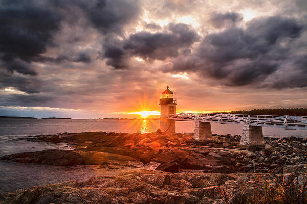 Photograph - Marshal Point Sunset by Robert Clifford