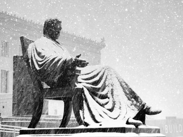 Photograph - Marshall In The Snow by Alice Gipson