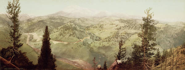 Wall Art - Drawing - Marshall Pass, Colorado William Henry Jackson by Litz Collection