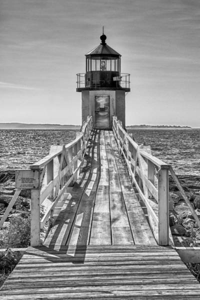 Photograph - Marshall Point Lighthouse by Guy Whiteley