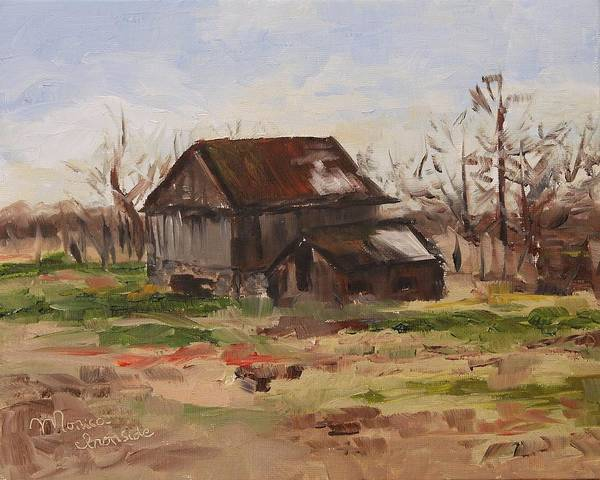Painting - Marshall Road Barn by Monica Ironside