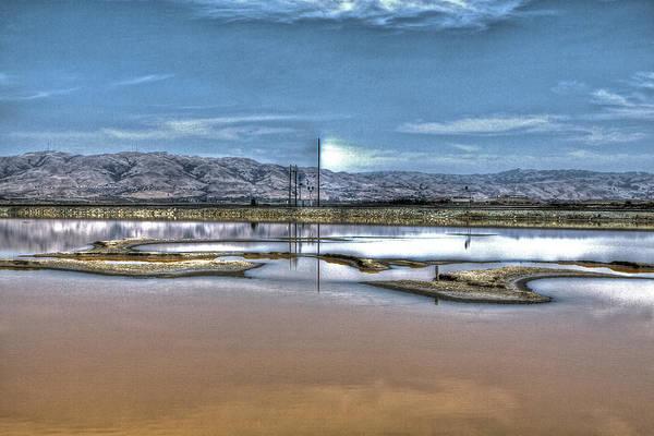 Alviso Photograph - Marshlands by SC Heffner