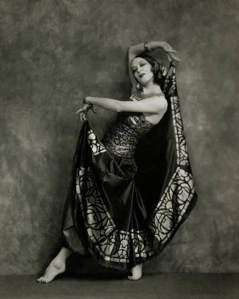 Dance Photograph - Martha Graham Dancing by Nickolas Muray