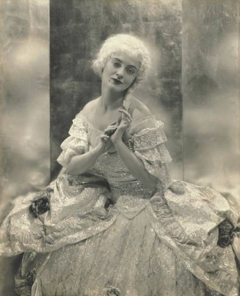 Wall Art - Photograph - Martha Lorber In Costume For Cosi Fan Tutti by Edward Steichen