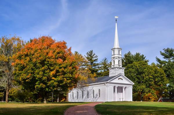 Photograph - Martha-mary Chapel by Robert Mitchell