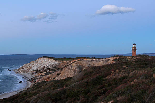 Photograph - Martha's Vineyard Gay Head Lighthouse by Juergen Roth