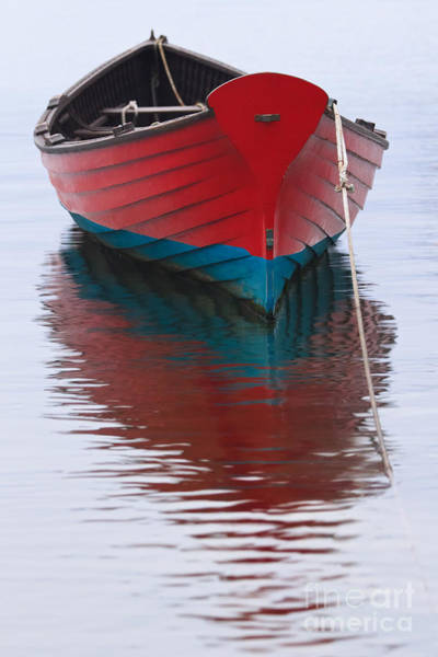Wall Art - Photograph - Martha's Vineyard Red Boat by Katherine Gendreau