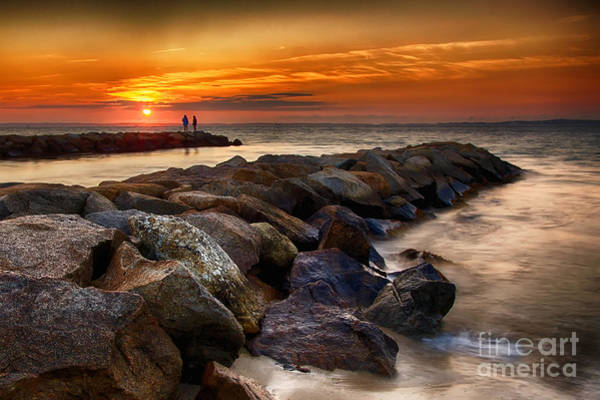 Photograph - Martha's Vineyard Sunset by Mark Miller