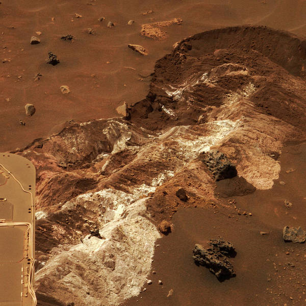 Soil Science Wall Art - Photograph - Martian Minerals by Nasa/jpl/cornell/science Photo Library