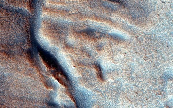 Deposit Photograph - Martian Valley by Nasa/jpl-caltech/univ. Of Arizona