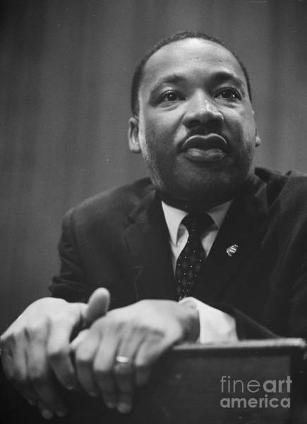 Photograph - Martin Luther King by Celestial Images