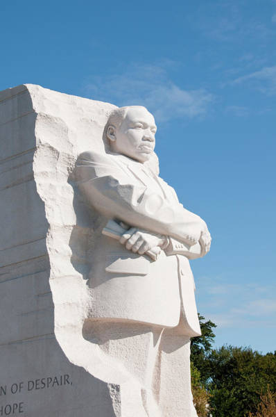 Commemorative Wall Art - Photograph - Martin Luther King Jr Memorial by Lee Foster
