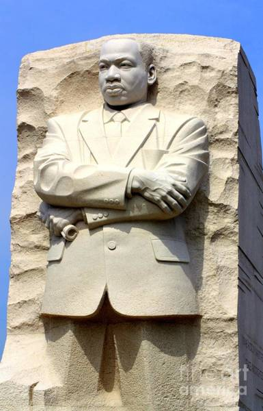 Photograph - Martin Luther King Jr Monument by Patti Whitten