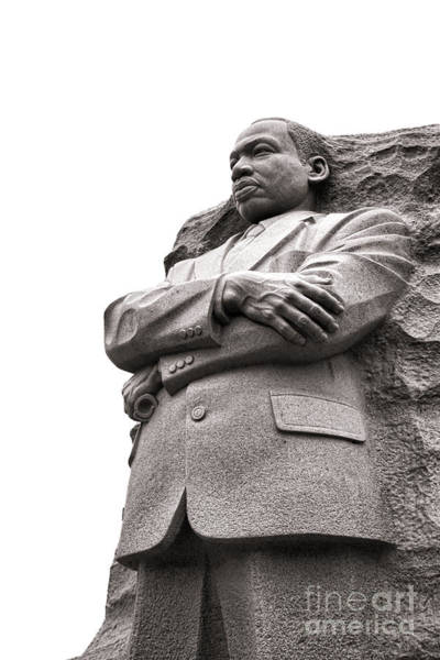 Wall Art - Photograph - Martin Luther King Memorial Statue by Olivier Le Queinec