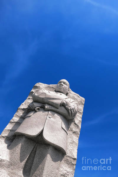 Luther Photograph - Martin Luther King by Olivier Le Queinec