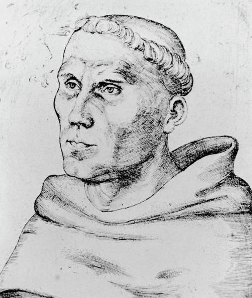 Luther Photograph - Martin Luther by Science Photo Library
