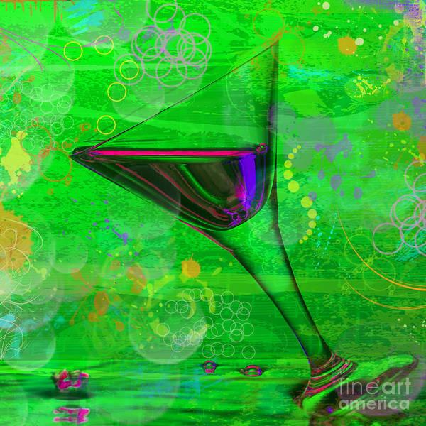 Pyrography - Martini Green by Mauro Celotti