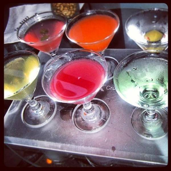 Martini Wall Art - Photograph - #martini #mini #cocktails #flavours by Georgina Moore