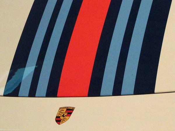 Racing Shell Photograph - Martini Porsche by Kelly Mezzapelle