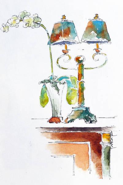 Painting - Martinis Lounge On The Regatta by Pat Katz